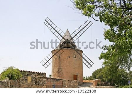 Goult, Le Moulin de Jerusalem, Provence, Southern France #19322188