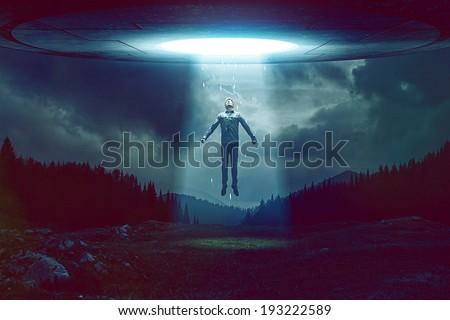 UFO Royalty-Free Stock Photo #193222589