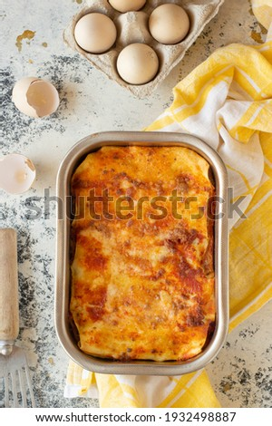 """Italian filled pasta called """"cannelloni"""""""