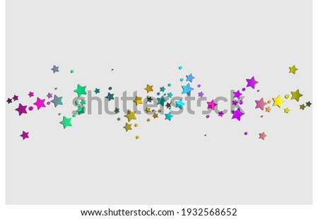 Bright multicolor stars. Festive fireworks.