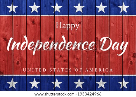 USA Independence Day banner background Royalty-Free Stock Photo #1933424966