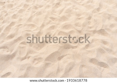 Sand texture background. Top view Royalty-Free Stock Photo #1933618778
