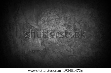 Old wall texture cement dark black gray  background abstract grey color design are light with white gradient background. Royalty-Free Stock Photo #1934014736
