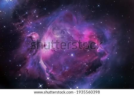 Orion Nebula Deepsky Astrography Telescope  Royalty-Free Stock Photo #1935560398