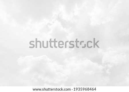 White cloudy sky for background. Royalty-Free Stock Photo #1935968464