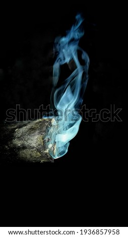 Wood smoke generates through natural burning process. it looks so beautiful hen smoke appears in different shapes and aroma which depends upon type of wood used in firing.