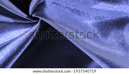 navy blue silk fabric, bondi blue, high definition photography, background texture