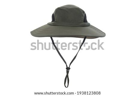 Unisex Wide Brim Sun Hat Summer UV Protection Bucket Hat Foldable Fishing Hat Royalty-Free Stock Photo #1938123808