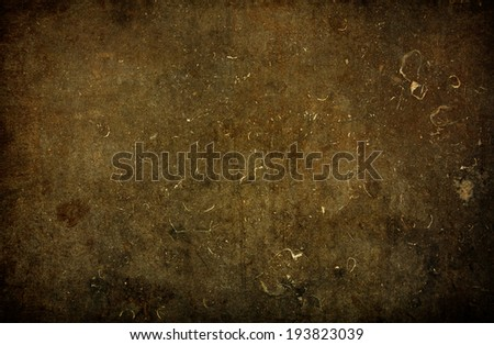 Brown grungy wall - Great textures for your #193823039