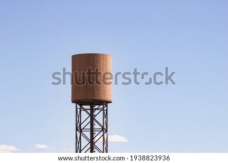 Cool structures in the desolated desert  Royalty-Free Stock Photo #1938823936