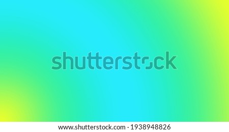 blue green yellow gradient background Royalty-Free Stock Photo #1938948826