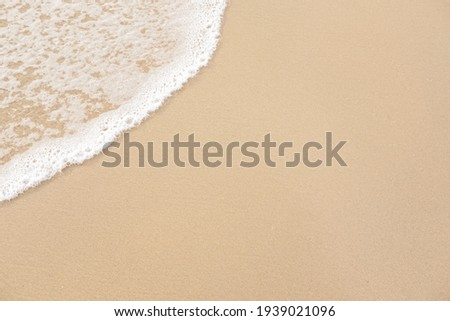 abstract sand of beach and soft wave background Royalty-Free Stock Photo #1939021096