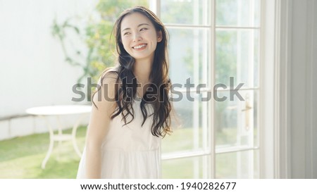 Beauty concept of young asian woman. Skin care. Body care. Royalty-Free Stock Photo #1940282677