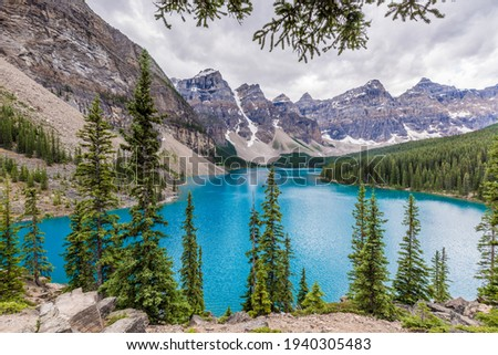 Moraine Lake is perhaps the most photographed lake in the world. However, every photo of Moraine Lake has an unique element that is exclusive that that particular photo.