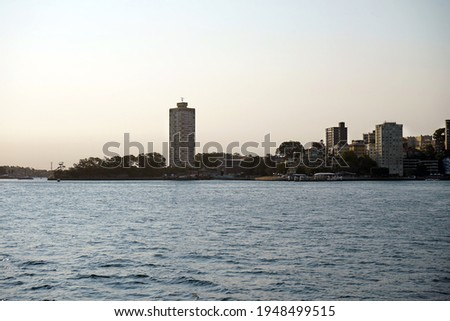 McMahons Point and Lavender bay as seen from Milsons point. Royalty-Free Stock Photo #1948499515