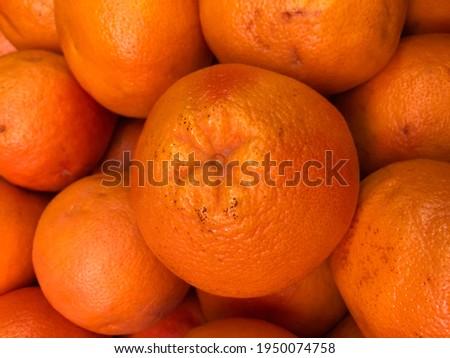 Macro photo orange. Stock photo orange citrus background