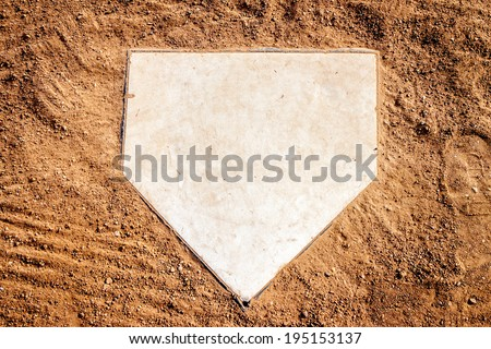Home plate #195153137