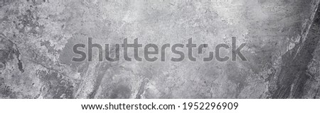 Panoramic background - old concrete wall with cracks Royalty-Free Stock Photo #1952296909