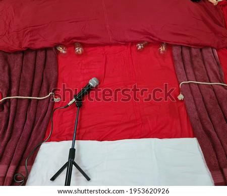 Baby Photoshoot Singing Stage Setup