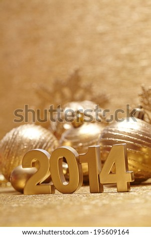 New 2014 year #195609164