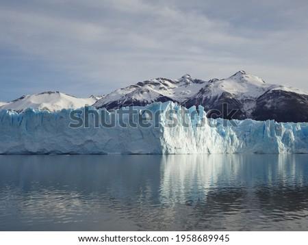 Picture of Perito Moreno glacier in El Calafate, Argentina.
