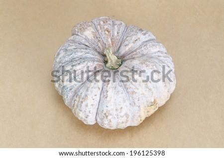 Pumpkin on brown background #196125398
