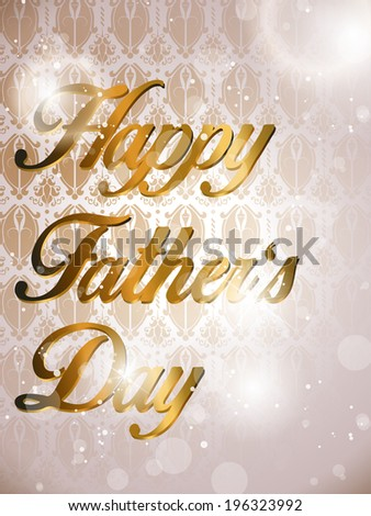 vector - Happy Father's Day Colorful Background Card #196323992