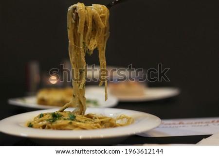 Turkish Spaghetti or macaroni picture
