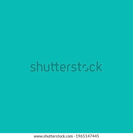 Tiffany blue. Solid color. Background. Plain color background. Empty space background. Copy space.