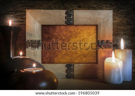 Picture Frame - Candlelight