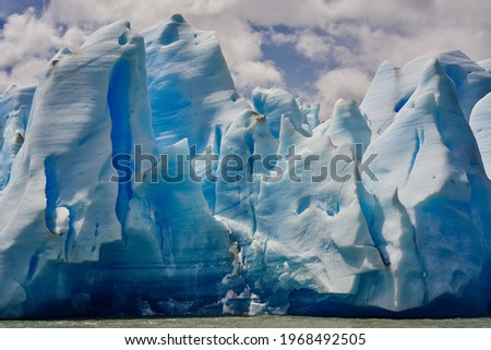 high-resolution photo of nature, formation, ice, glacier, arctic, iceberg, badlands, patagonia, terrain, arctic ocean, geographical feature, glacial terrain, ice cap Royalty-Free Stock Photo #1968492505