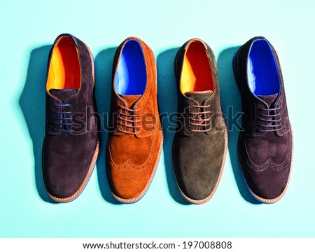 men  suede shoes isolated background #197008808