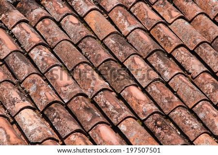 Red roof tilts #197507501