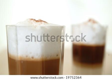 Coffee in a Glass - Latte Macchiato #19752364