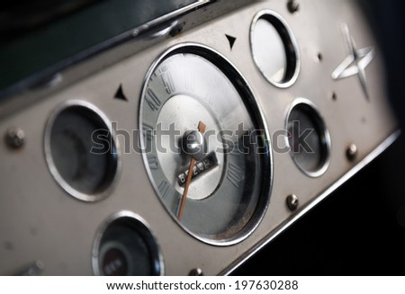 Interior photo of the American classic car #197630288