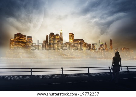 Manhattan in dreams