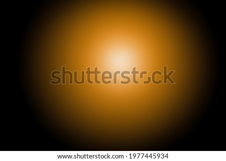Sunlight and sunrays with black background