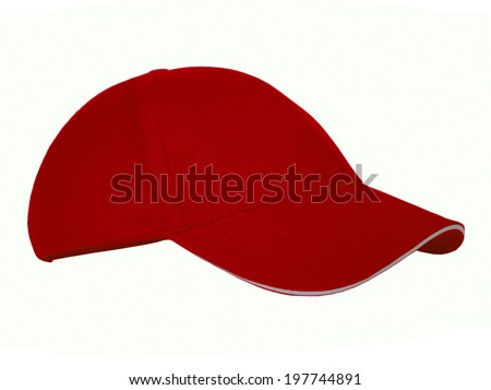 cool modern cap on white background #197744891