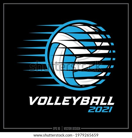 White, and blue Volleyball insignia, Basketball Team, Sports Design, Team Logo, Sports Ball