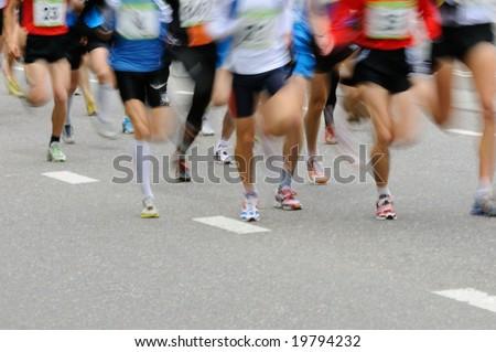 Marathon runners #19794232