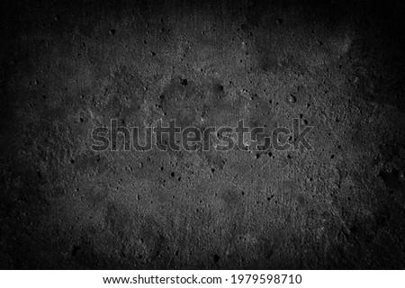 dark monochrome rough texture with deep vignetting in art style
