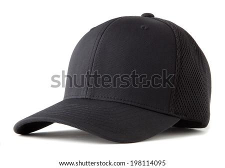 black baseball hat Royalty-Free Stock Photo #198114095