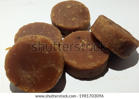 picture of a pile of Javanese sugar