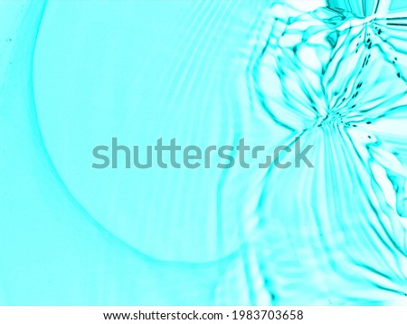 Closeup blur abstract of surface blue water. Abstract of surface blue water reflected with sunlight for background.Top view of blue water. Water splashed use for graphic design