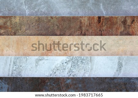 Different patterns of types of marble background and texture