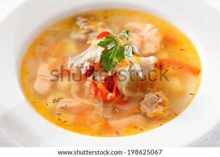 fish soup #198625067