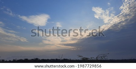 High Resolution Sky Background Stock Photo