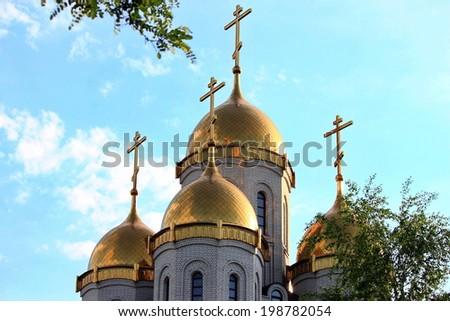 """The Church """"All Saints"""" on Mamaev hill #198782054"""