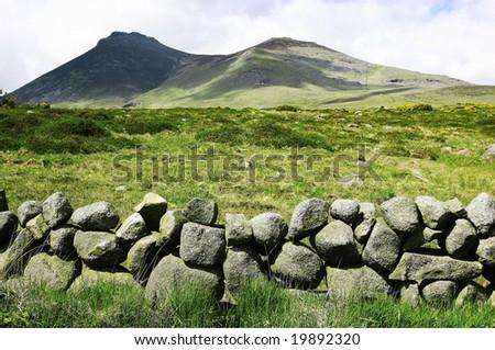 A Stone Wall in Ireland #19892320