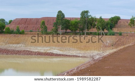 Ponds for agriculture, parks Agricultural water storage facility